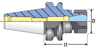 bt collet chucks diagram