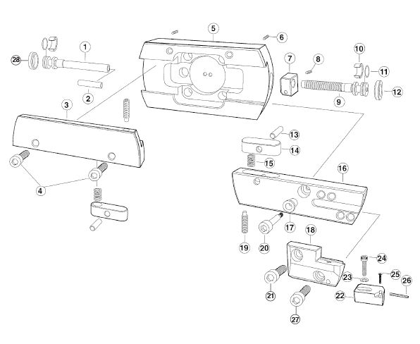 Parts for Large Finish Heads