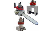 a variety of aggregate heads with saw outputs, large sanding outputs, and triple ER25 outputs