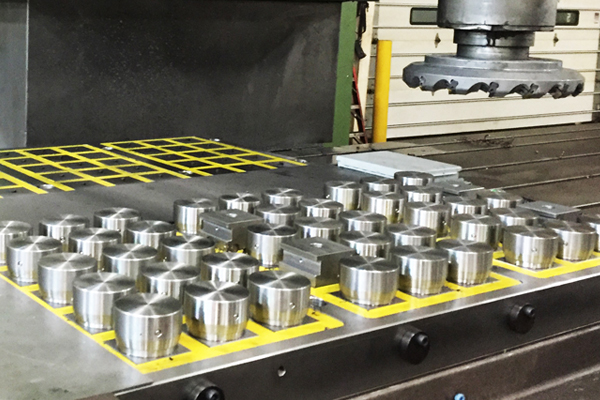cnc metalworking workholding fixtures with induction clocks