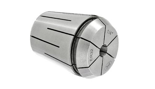 ER steel sealed inch collets