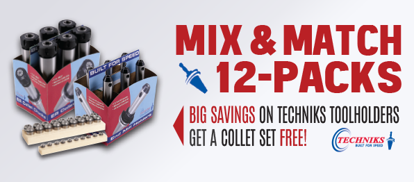 Banner for techniks mix and match promotional flyer