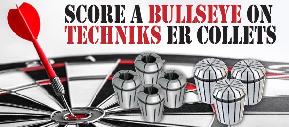 Banner for techniks free collet sets promotional flyer