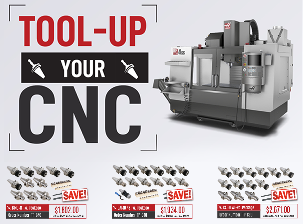 Banner for techniks tool up tooling packages promotional flyers