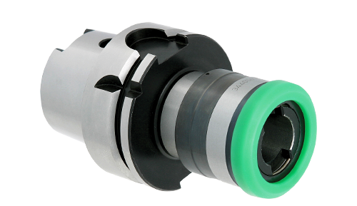 HSK spindle tension and compression tapping holders