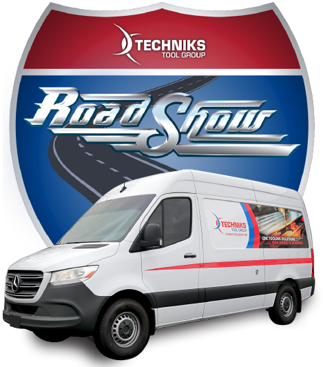 Techniks roadshow logo