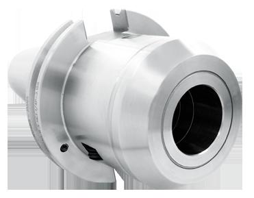 Triton hydraulic holder cat50 side-view