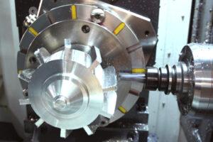 circular workholding magnet cnc machine multiple profiling
