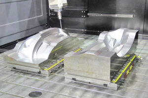 cnc machine mold making for automotive parts with techniks magnetic workholding