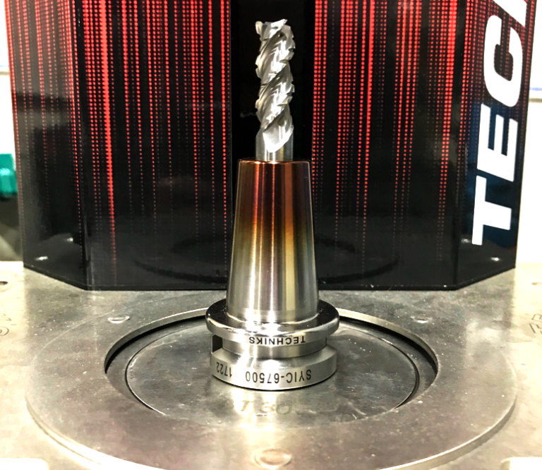 cutting tool in shrinkfit holder