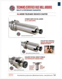 face mill arbors catalog thumbnail