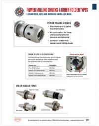 power milling drive chucks catalog thumbnail